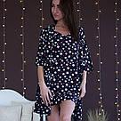 Халат темно-синий со звездами, фото 3