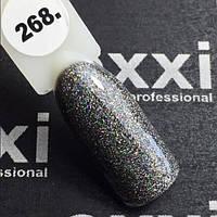 Гель-лак Oxxi professional(10 мл) №268(серый, с голограммным шиммером)