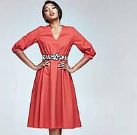 Платье для девушки летнее коттоновое, женская одежда новинка 2020