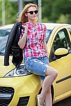 Легкая летняя рубашка на лето женская большие размеры , размер от 42 до 56, фото 3