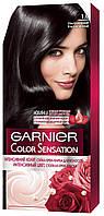 Стойкая крем-краска для волос Garnier Color Sensation 1.0 Ультрачерный