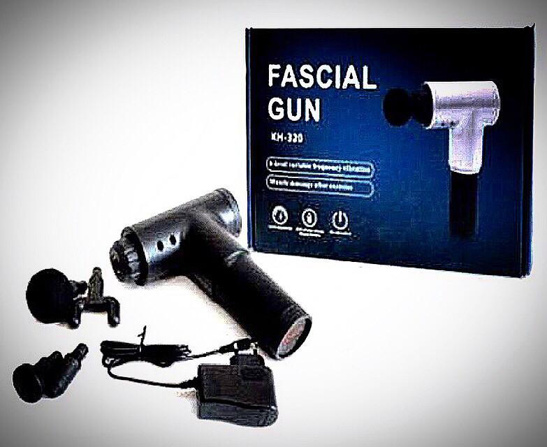 Мышечный массажёр Fascial Gun