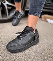 Мужские Кроссовки Nike Air Force 1 Low Type Черные