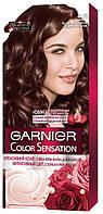 Стійка крем-фарба для волосся Garnier Color Sensation 4.15 Крижаний Каштан, фото 1