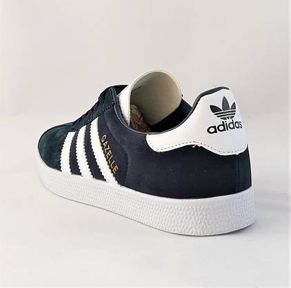 Кроссовки Adidas Gazelle Синие Мужские Адидас (размеры: 41,42,43,45) Видео Обзор, фото 2