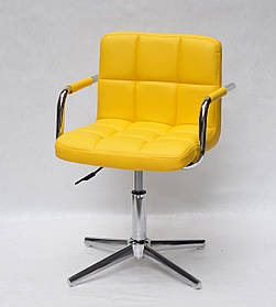 Кресло мастера Arno Arm M Base, желтое