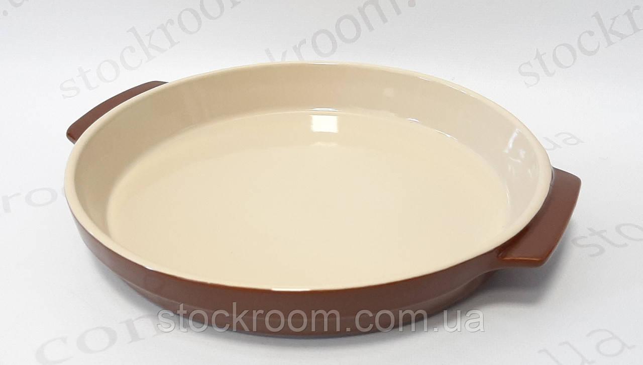 Форма для выпечки круглая Krauff 24-273-004 керамическая ~ 1500 мл