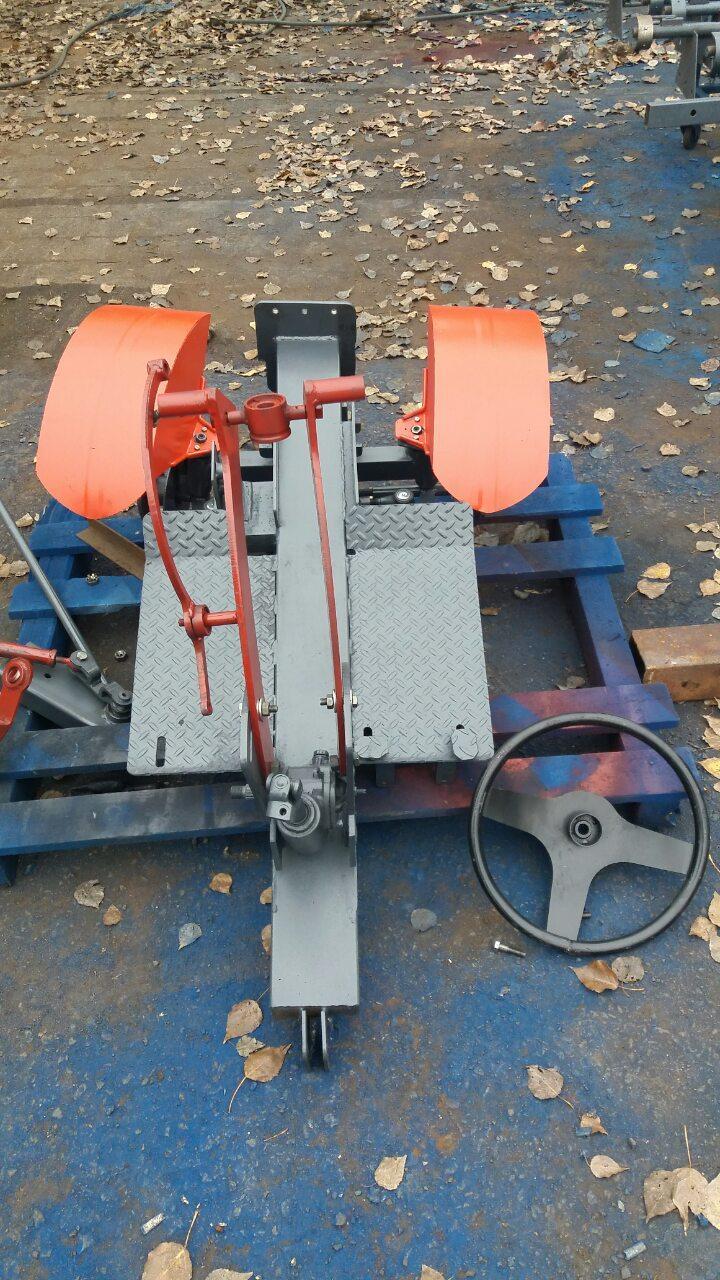 Комплект для переоборудования мотоблока с воздушным охлаждением в мото