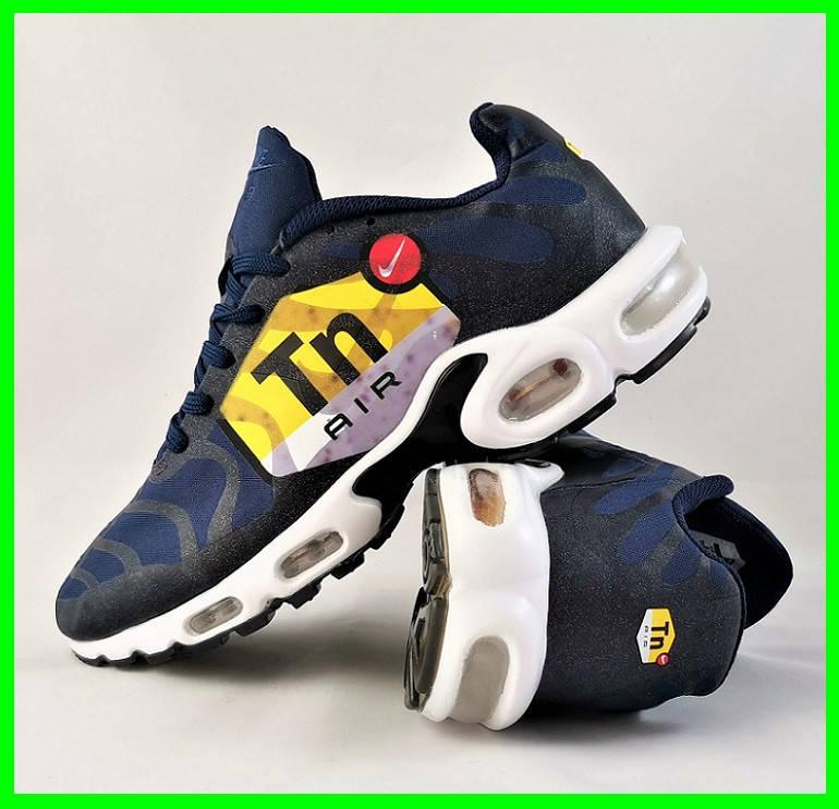 Кроссовки Мужские N!ke Tn Air Max Plus OG Синие Найк (размеры: 41,42,43,44,45) Видео Обзор, фото 2