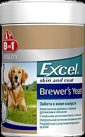 Вітаміни Excel Brewers Yeast Бреверс Пивні дріжджі для собак і котів, 260 смачних таблеток, 8in1