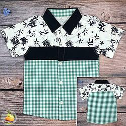 Летняя рубашка для мальчика Размер: 1,2,3 года (20313-1)