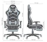 Геймерское кресло VR Racer Dexter Galvatron черный/красный 545084 AMF (бесплатная адресная доставка), фото 10