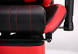 Геймерское кресло VR Racer Dexter Galvatron черный/красный 545084 AMF (бесплатная адресная доставка), фото 9