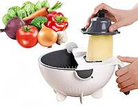Овочерізка - Терка з Контейнером Basket Vegetable Cutter, фото 1