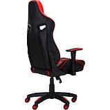 Офисное геймерское VR Racer Expert Winner черный/красный (бесплатная адресная доставка), фото 3
