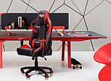 Офисное геймерское VR Racer Expert Winner черный/красный (бесплатная адресная доставка), фото 5