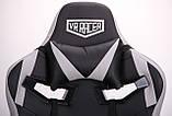 Офисное геймерское кресло VR Racer Expert Wizard черный/серый (бесплатная адресная доставка), фото 8