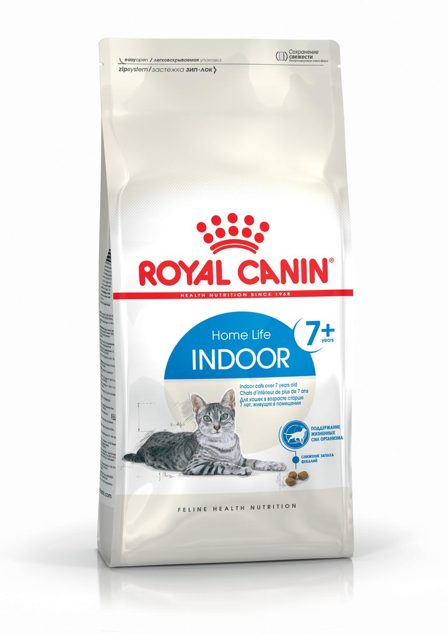 Royal Canin Indoor 7+, 0,4 кг — Корм для кошек от 7 лет, живущих в помещении