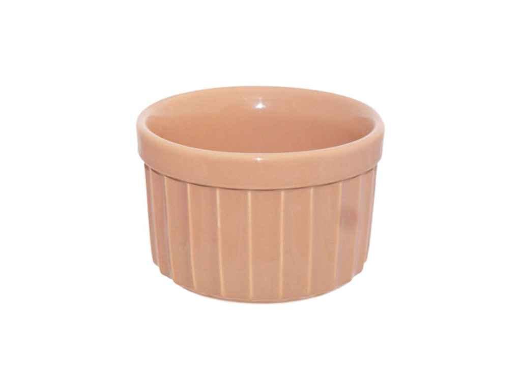 Форма для випічки 200мл повнокольоровий бежевий (6шт. в уп.) ТМПОЛИГЕНЬКО