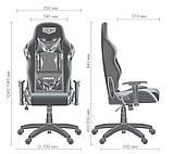 Геймерское кресло VR Racer Original Dazzle черный/камуфляж AMF (бесплатная адресная доставка), фото 10