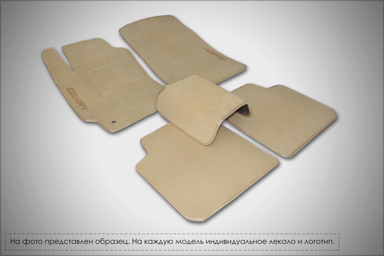 Велюровые Premium коврики в салон (текстильные) FIAT 500 (2007 - н.в.)