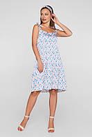 Летнее платье для беременных и кормящих Lullababe в перья, фото 1
