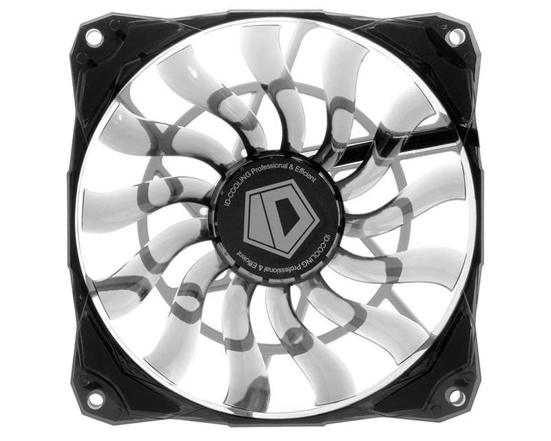 Вентилятор ID-Cooling NO-12015, 120х120х15мм, 4-pin PWM, чорний