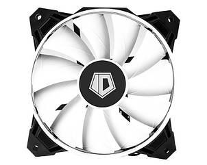 Вентилятор ID-Cooling WF-12025, 120х120х25мм, 4-pin PWM, чорний з білим, фото 2
