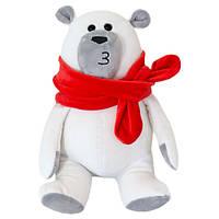 Мягкая игрушка ТМ Kidsqo  Медведь Маршмеллоу  белый - (20см)