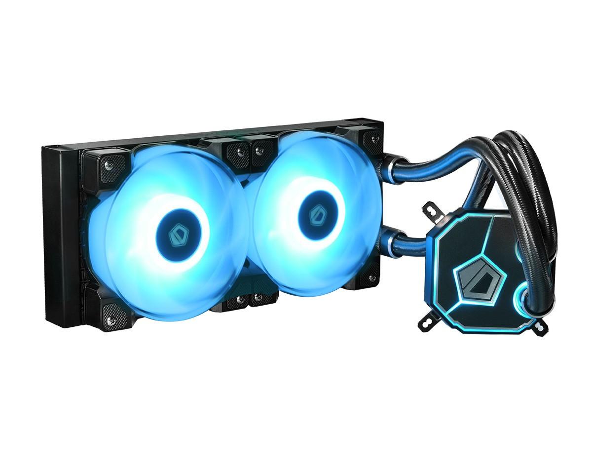 Система водяного охлаждения ID-Cooling Dashflow 240, Intel: LGA2066/2011-3/2011/1366/1151/1150/1155/1156, AMD: AM4/FM2+/FM2/FM1/AM3+/AM3/AM2+/AM2,