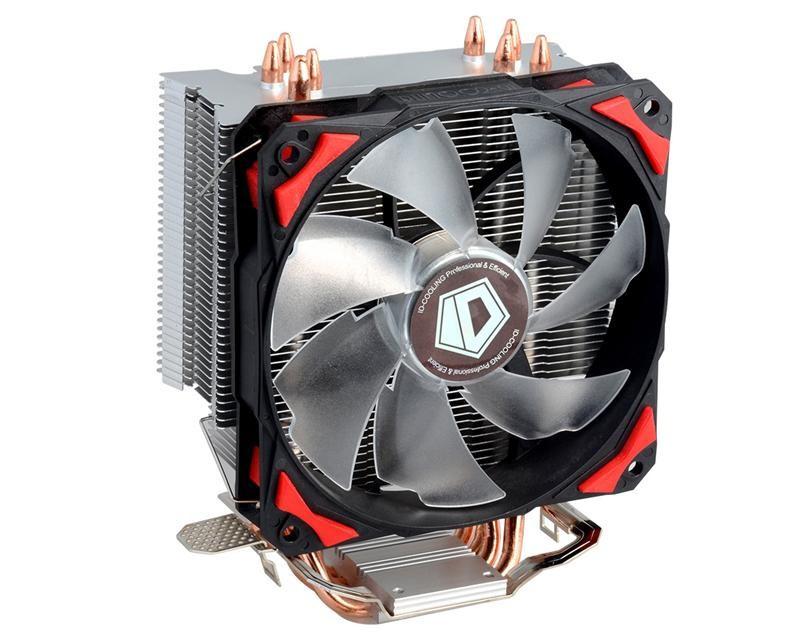 Кулер процессорный ID-Cooling SE-214, Intel: 1150/1151/1155/1156/775, AMD: FM2+/FM2/FM1/AM3+/AM3/AM2+/AM2, 123х77х160 мм, 4-pin