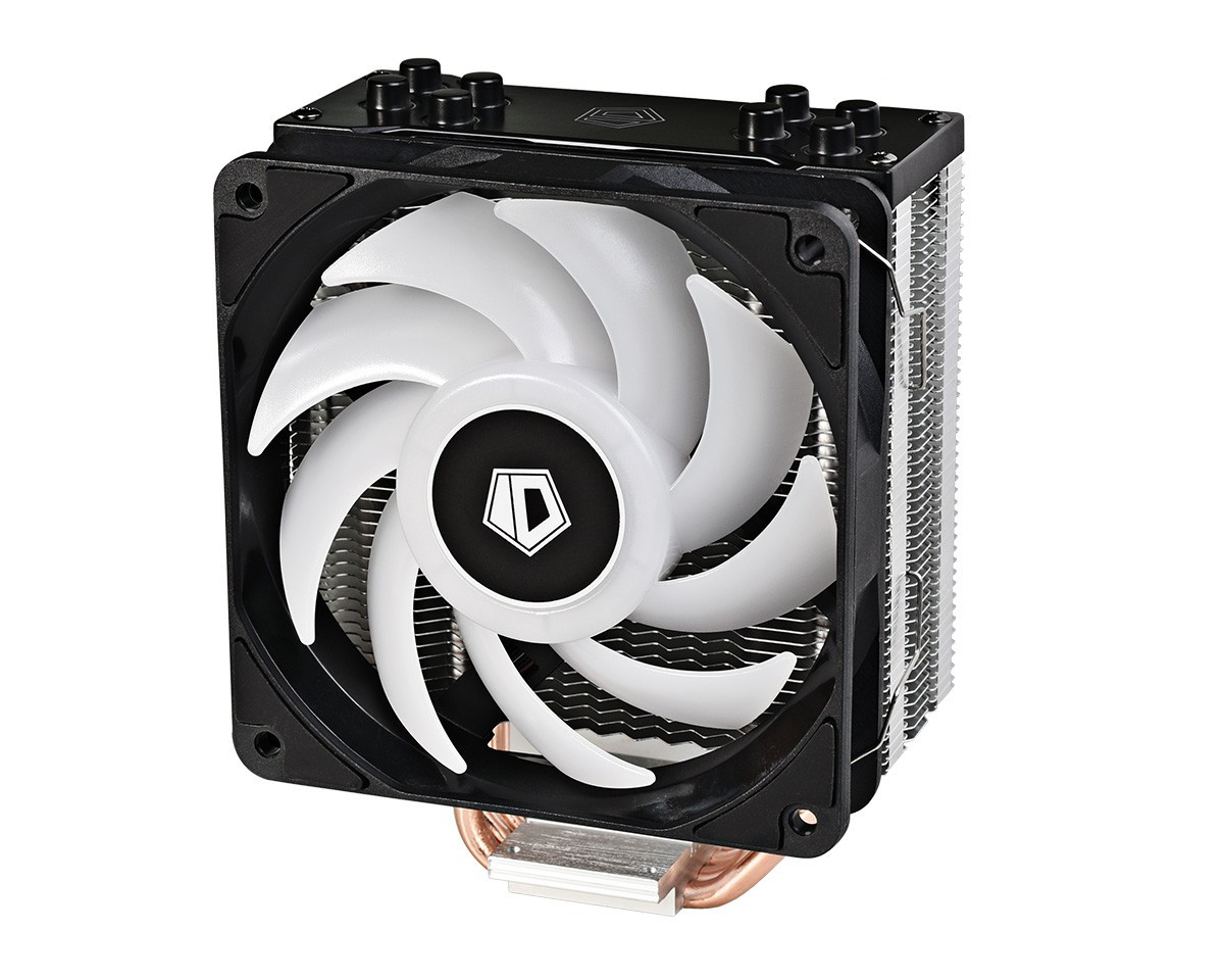 Кулер процессорный ID-Cooling SE-224-RGB, Intel: 2066/2011/1150/1151/1155/1156, AMD: AM4/FM2+/FM2/FM1/AM3+/AM3/AM2+/AM2, 156x127x77 мм
