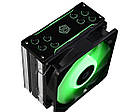 Кулер процессорный ID-Cooling SE-224-RGB, Intel: 2066/2011/1150/1151/1155/1156, AMD: AM4/FM2+/FM2/FM1/AM3+/AM3/AM2+/AM2, 156x127x77 мм, фото 2