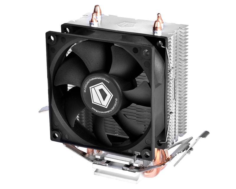 Кулер процессорный ID-Cooling SE-802, Intel: 1151/1150/1155/1156/775, AMD: AM4/FM2+/FM2/FM1/AM3+/AM3/AM2+/AM2, 117х64х116 мм, 3-pin