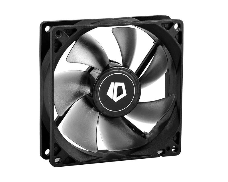 Вентилятор ID-Cooling NO-9225-SD, 92x92x25мм, 3-pin, черный