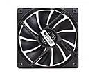 Вентилятор ID-Cooling XF-12025-SD-K, 120x120x25мм, 4-pin, черный, фото 3