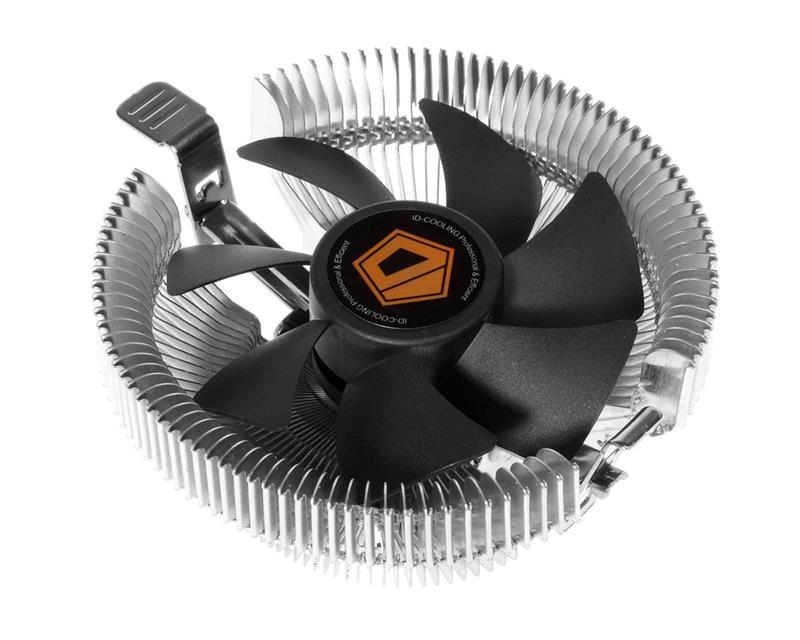 Кулер процессорный ID-Cooling DK-01T, Intel: 1151/1150/1155/1156/775, AMD: FM2+/FM2/FM1/AM3+/AM3/AM2+/AM2, 110х110х52 мм, 3-pin