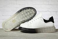 Кроссовки женские 17161, MkQueen, белые, < 36 37 38 39 40 > р. 36-23,5см., фото 1