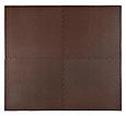 Мат-пазл (ласточкин хвост) 4FIZJO Mat Puzzle EVA 120 x 120 x 1 cм 4FJ0074 Braun, фото 2