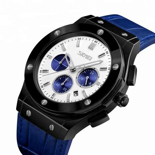 Skmei 9157 Blue-Black-White