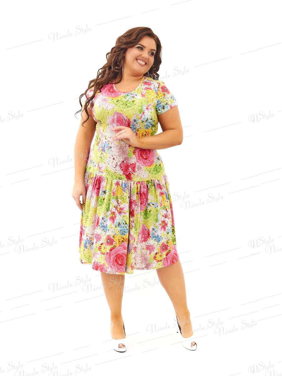 Повседневное платье 436-1 54