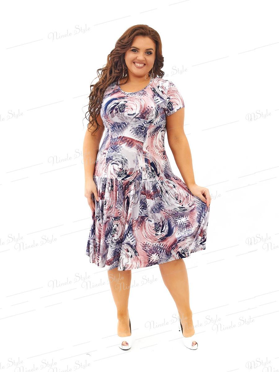 Повседневное платье 436-6 54
