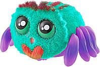 🔝 Игрушка паук для детей (голубой+фиолетовый) игрушечный паучок Yelies на батарейках интерактивный | 🎁%🚚
