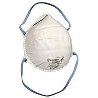 🔝 Респиратор маска Venitex M1200CH FFP2 распиратор без клапана одноразовый чашеобразный | 🎁%🚚