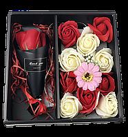Подарочный набор мыла XY19-80 c Розой