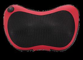 Портативный роликовый массажер в авто и для дома HOME CAR MASAGE PILLOW red