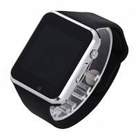 Умные Часы Smart Watch А1 silver + Наушники подарок
