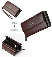 Мужской кошелек-клатч Baellerry 5515 коричневый