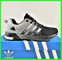 Кроссовки Adidas Fast Marathon Чёрные Мужские Адидас (размеры: 41,42,43,44,45) Видео Обзор