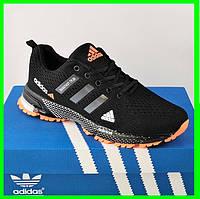 Кроссовки Adidas Fast Marathon Чёрные Мужские Адидас (размеры: 41,44,46) Видео Обзор